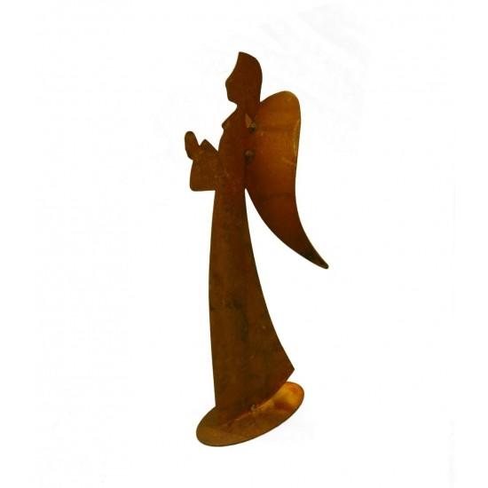 Engelfigur für den Garten betende Hände