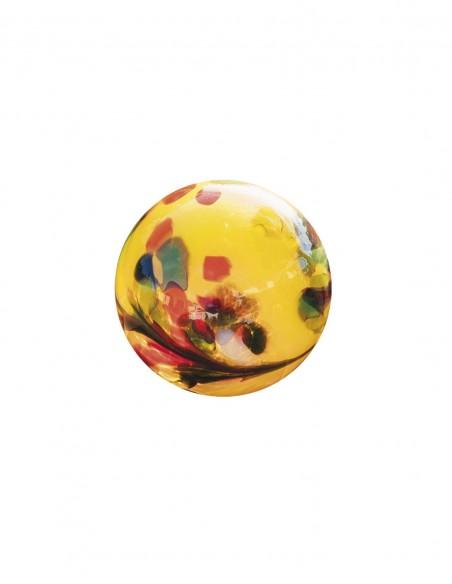 Tulpen Glasblume Tina - Tulpe - Höhe 86 cm - Kugel Gelb Edelrost Glasblume Tina inklusive Glaskugel Diese Glasblume lässt Ihren