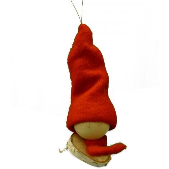 Wichtel Mit roter mütze selbstgemacht