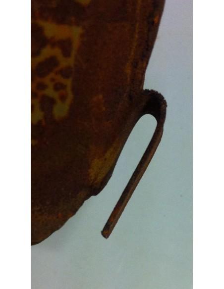 Bastelideen mit Metall und Rost Lange Engelsflügel zum Einhängen (mittel) 25 x 29 cm   Lange Engelsflügel zum Einhängen (mitte