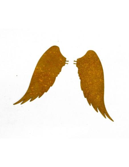 Bastelideen mit Metall und Rost Kerzenflügel klein 9 cm - Engelsfügel für Kerze Größe 1 Diese originellen Kerzenflügel verleihen