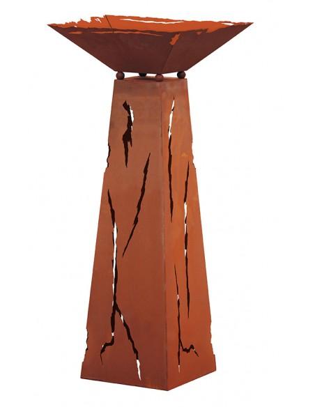 Säule Trapez Mystik 96,5 cm hoch inkl. Schale