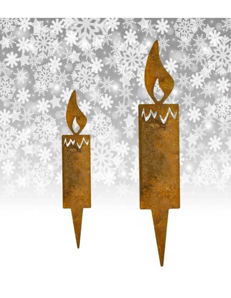 Steck Kerzen Metall für Advent