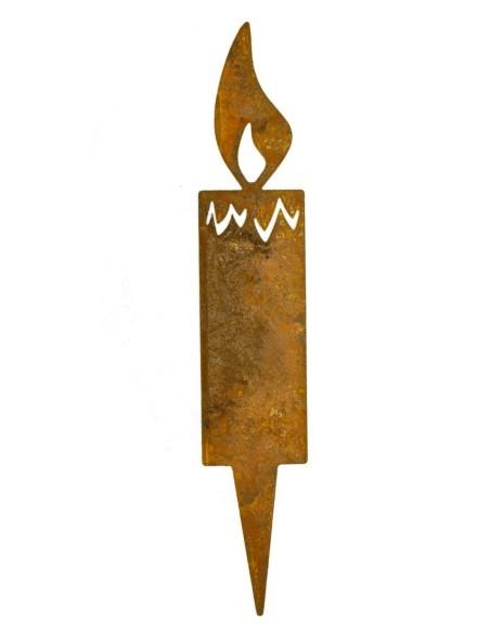 Steckkerze Adventskranz nicht brennbar