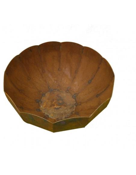 Katalogartikel Rost Schale -Ramses- Ø 45 cm Ø 45cm. schöne Schale zum bepflanzen Die Schale ist Feuerfest.und auch als Feuerscha