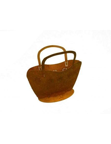 Frühling / Ostern Tasche Julia Groß 35 cm hübsche Tasche mit Blumen - werden Sie kreativ H 35cm Breite 29 cm zum Bepflanzen