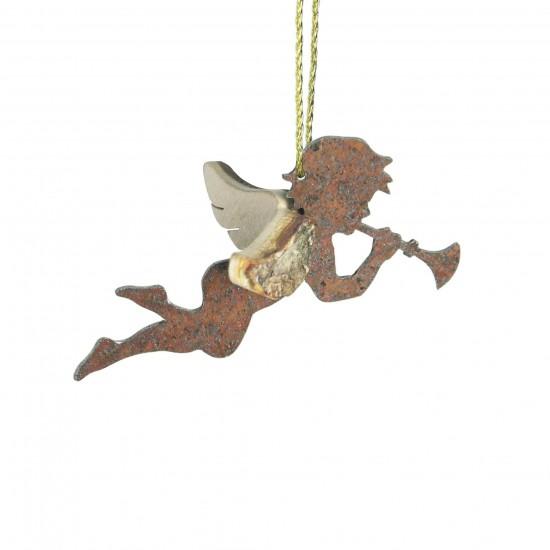 Engel mit Trompete - Weihnachtsschmuck