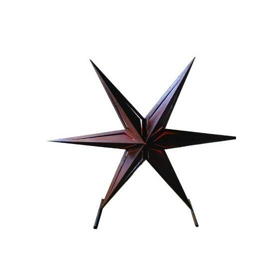 Metallkunst XXL XXL Roststern 2,4 Meter Durchmesser -Belize- Aussergewöhnlich! Der XXL Edelrost Stern für die besondere Dekorati