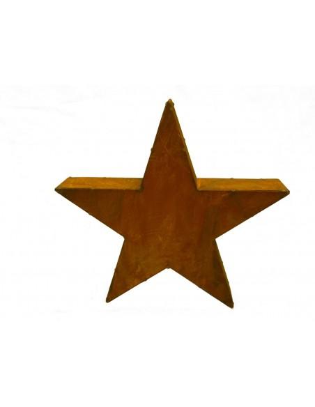 Stern Moses aus Rost für Ihren Garten