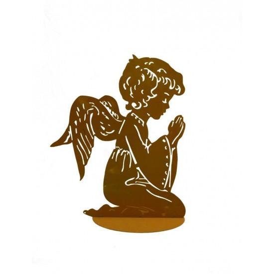 Betender Engel JOPHIEL - Höhe 50 cm - groß Engelfiguren kaufen und Engel Bastel-Ideen