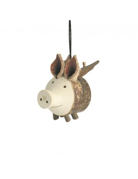 Geschenkidee fliegendes Schwein für autospiegel