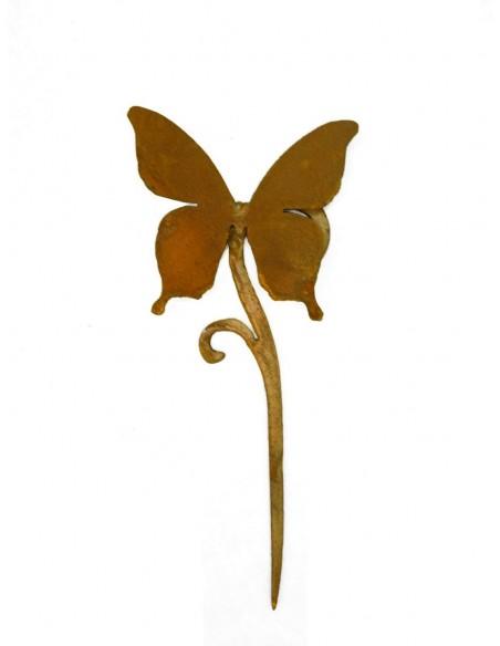 Papilio Schmetterling auf MiniCurl Stab 35 cm hoch