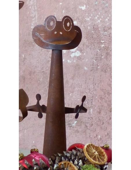 Zaungucker -Frosch-