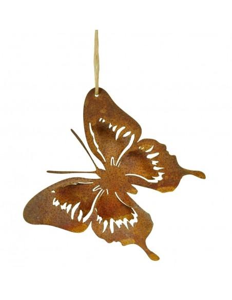 Edelrost Schmetterling zum höngen