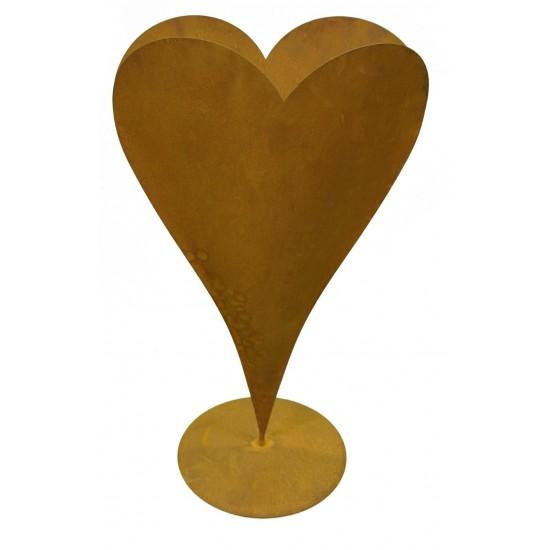 Herz auf Platte