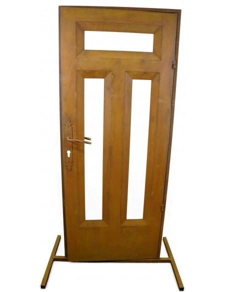 Edelrost Tür