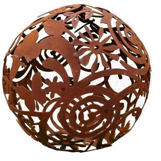 Rost Gartenkugel 50 cm Durchmesser