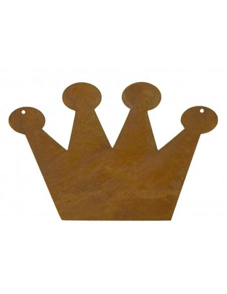 Rostschild Krone 25 x 37 cm
