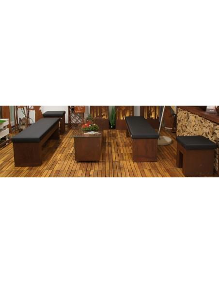 Loungebank -Chiller- mit Kunstlederbezug