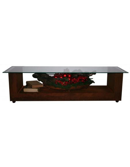 Loungetisch -Relax- mit Glasplatte