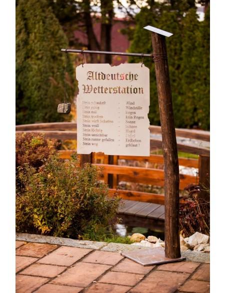 Altdeutsche Wetterstation, Rost