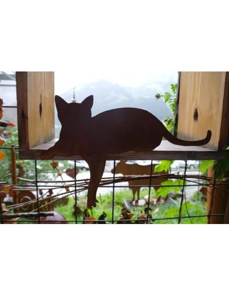 Katze für Kante Pfote nach unten
