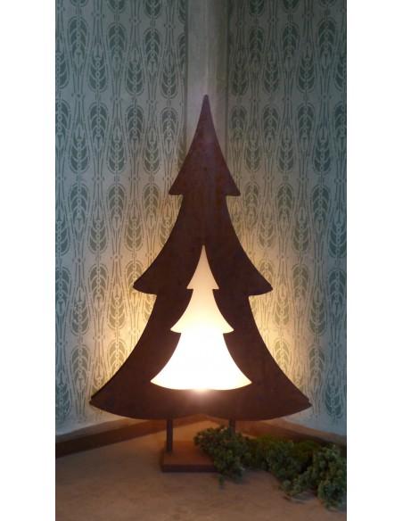 Baum -Montego- inkl. Außenbeleuchtung