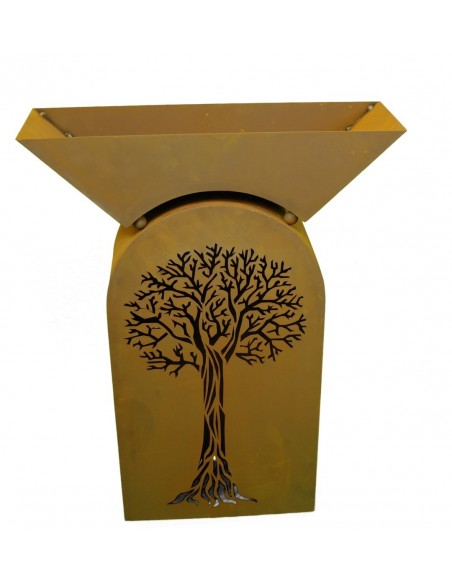 Säule Baum - inkl. Schale