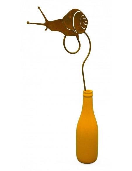 Schnecke 14,5 cm auf Curlstab 30 cm