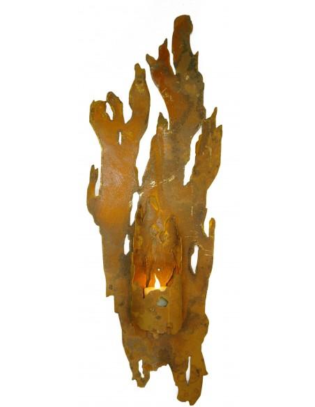 """Wandlicht """"Fackel"""" für Kerzen"""
