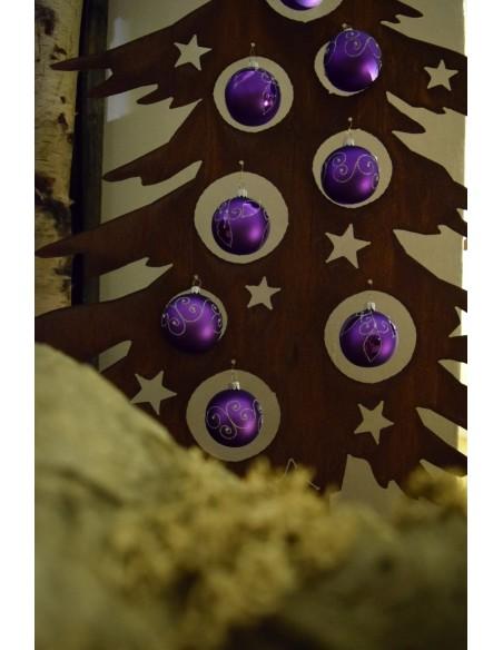Dekotanne 125 cm hoch für Christbaumkugeln