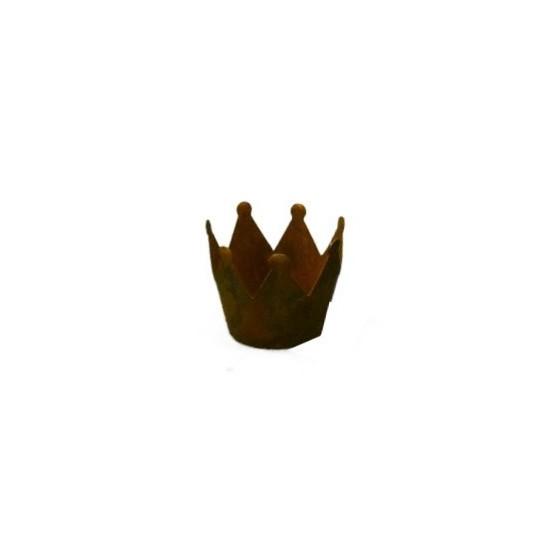 Rost Krone Ø 7cm mit Boden