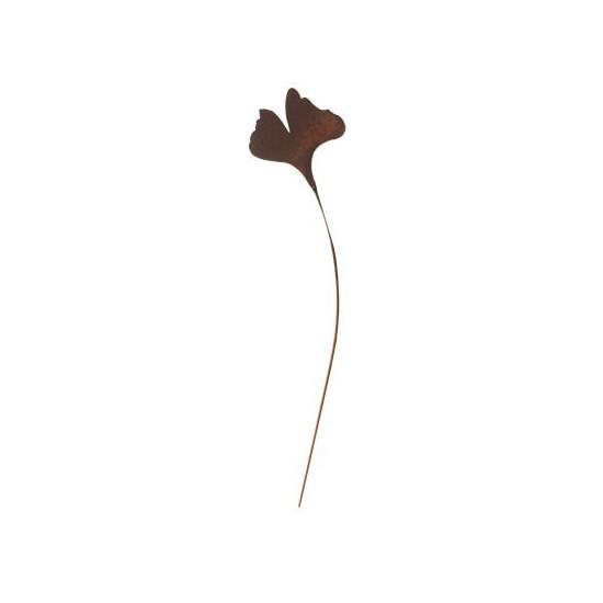 Ginkgoblatt groß auf Stab