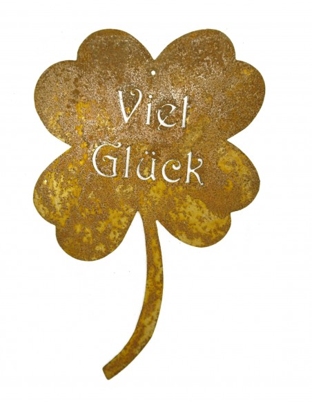 Kleeblatt -Viel Glück-