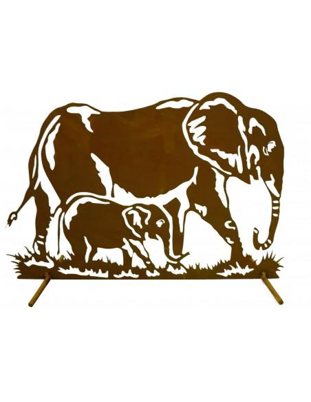 Gartendeko Elefant