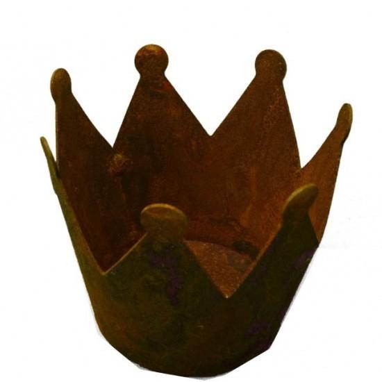 Rost Krone Ø23cm Edelrost Krone zum bepflanzen