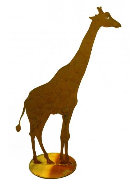 Giraffe auf Platte, zum Stellen