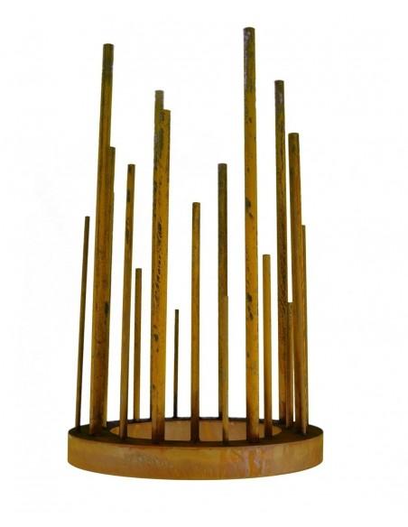 """Kerzenleuchter XXL Ring Ø 60 cm """"So und So"""""""
