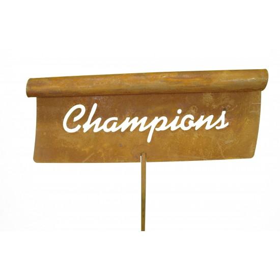 Gemüsestecker Champions