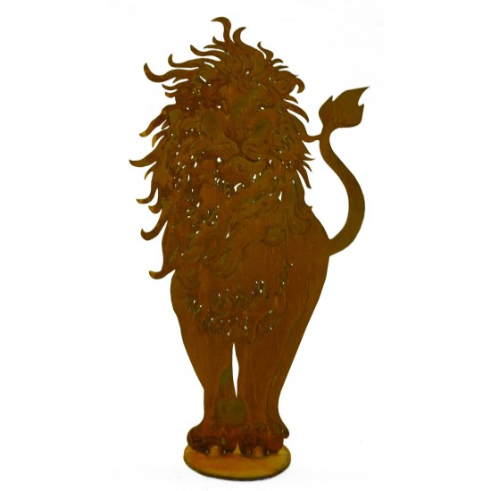 Löwe auf Platte, zum Stellen