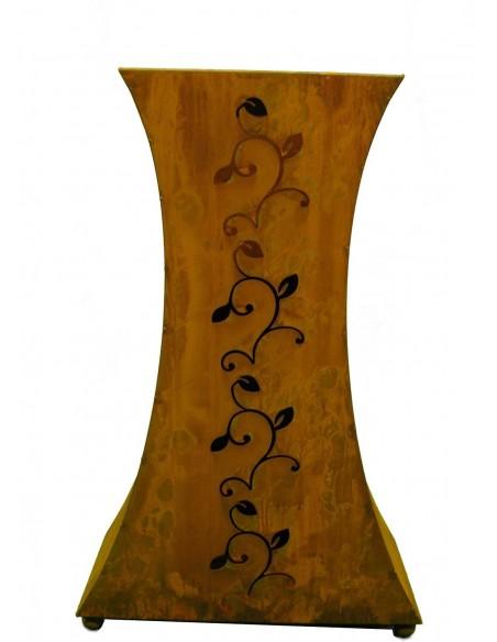 Rost Säule -Strecki- groß 90 cm hoch - tailiert - Art.  0941-11