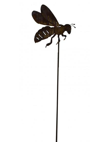 Biene auf Stab