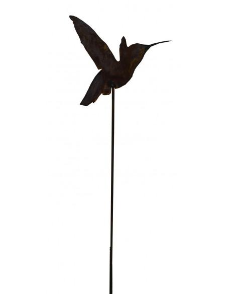 Kolibri Gartenstecker mit Stab 100 cm