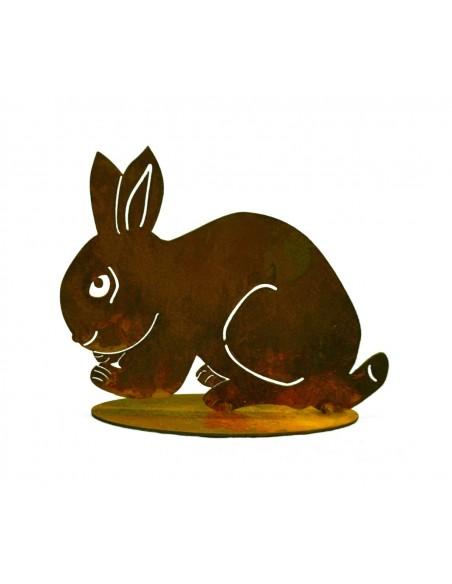 Kaninchen geduckt klein