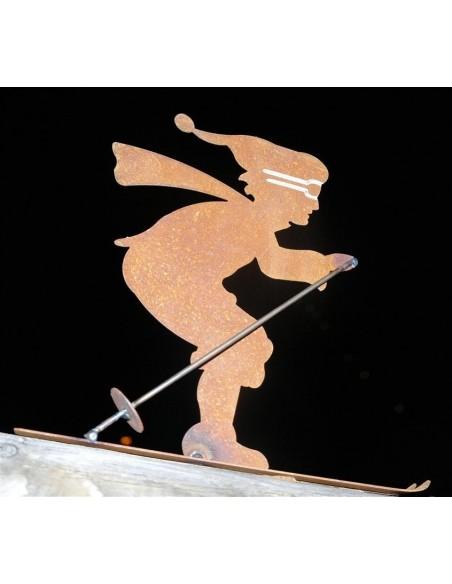 Skifahrer (klein)