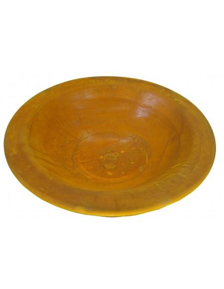 Rost Schale  mit Rand 30 cm Ø auf Platte Rand 3,5 cm