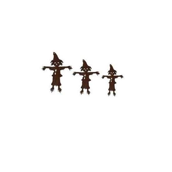 3 tlg. Vogelscheuchenkette