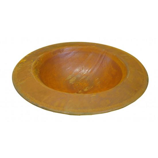 Rost Schale 60 cm mit Rand 9 cm