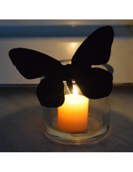2 verschiedene rostige Schmetterlinge für Vasen Edelrost rostig Metall
