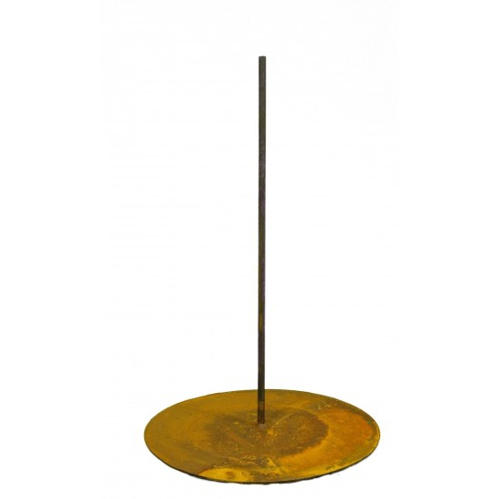 Standplatte mit Stange mittig